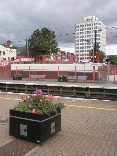 West end of Coventry railway station