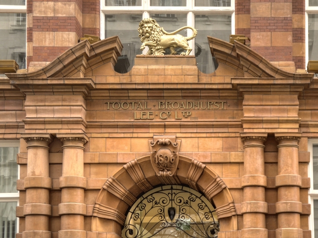 The Tootal, Broadhurst and Lee Building (detail)