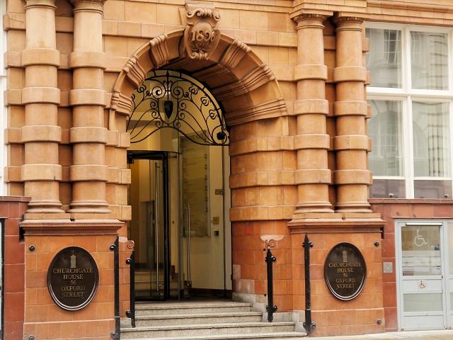 The Tootal, Broadhurst and Lee Building (doorway)