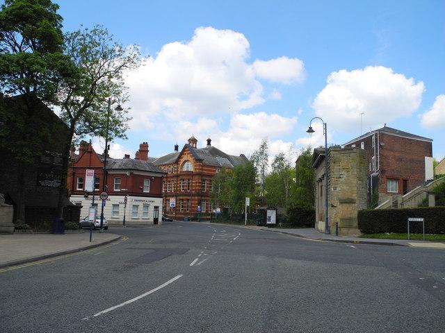 Market Street/Waterloo Road/Trinity Street junction, Stalybridge