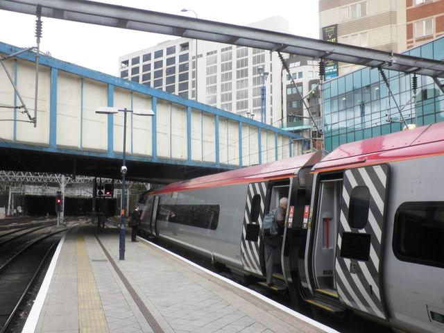 Euston to Glasgow train at Birmingham New Street