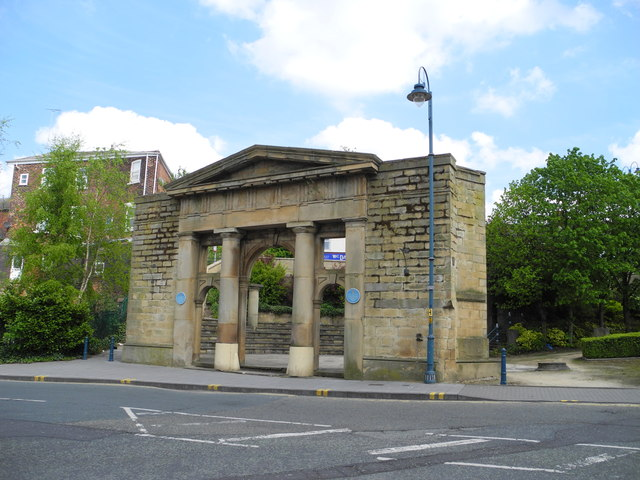 Remains of Old Town Hall, Stalybridge