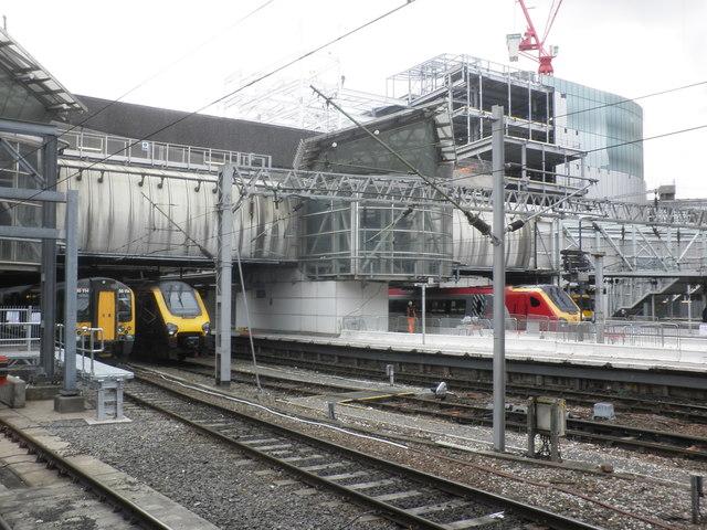 West end, Birmingham New Street Station
