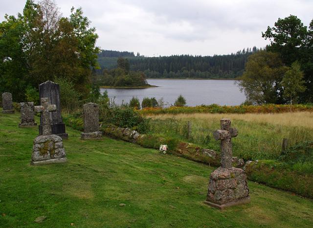 Trossachs Church graveyard