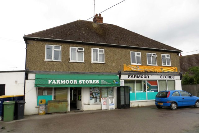 Farmoor Stores on Oxford Road