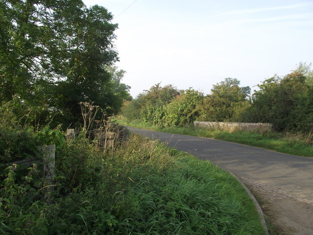 Lutterworth Road crosses a tributary of the River Sence