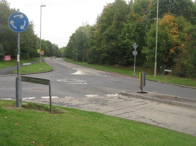 Long Cross Lane / Woodbury Road