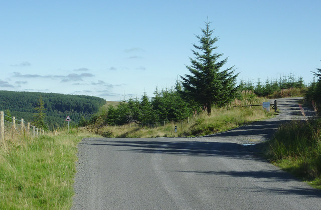 Mountain road to Abergwesyn, Powys