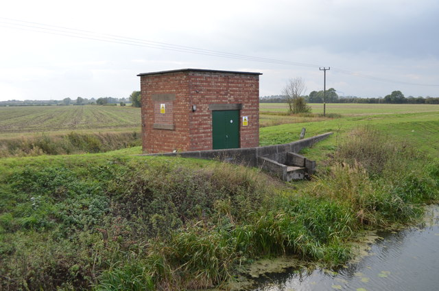 Pumping Station on the River Till