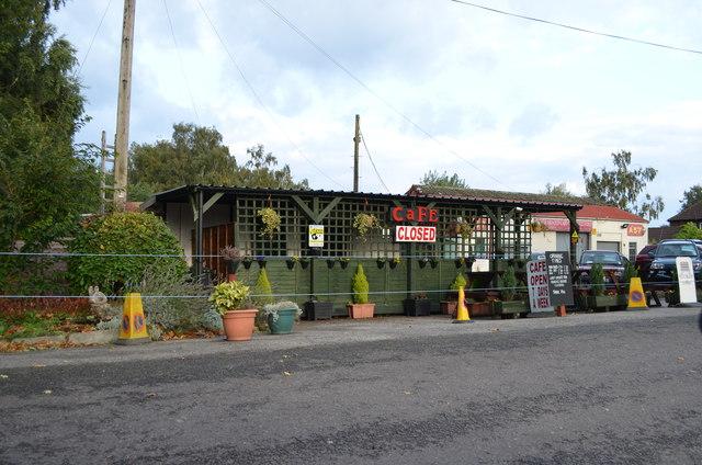 Café on the old A57
