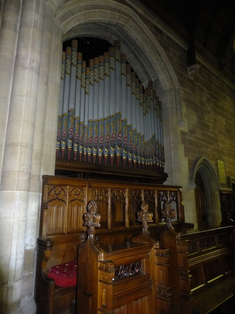 St Lawrence Church organ