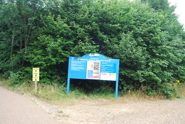 Information board, Whitlingham Outdoor Education Centre