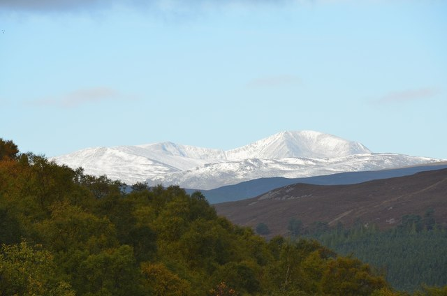 Cairn Toul from Braemar