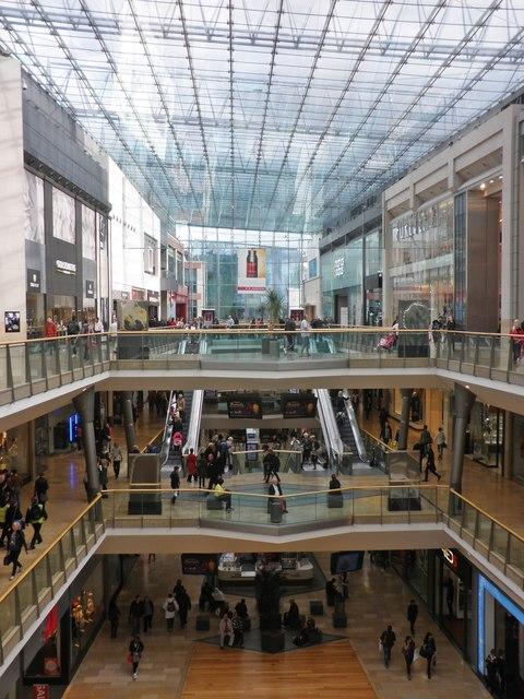Interior, Birmingham Bull Ring shopping centre