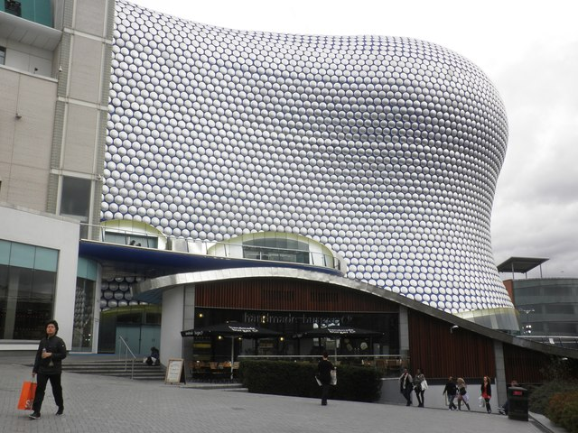 Exterior, Birmingham Bull Ring shopping centre