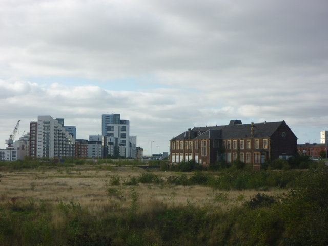 Glasgow Townscape : Post-Industrial Clydeside