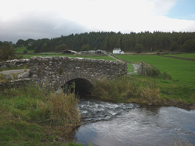Bridge over the River Eea, Low Bank Side
