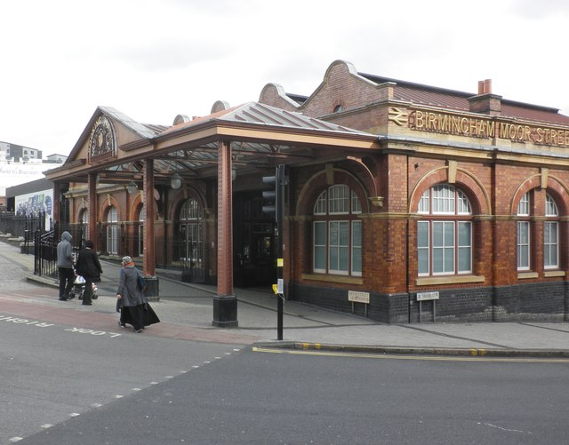 Main entrance, Moor Street railway station, Birmingham