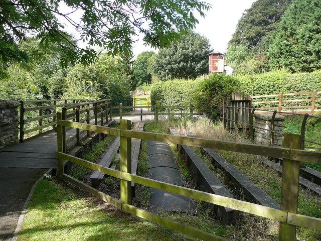 Bridge structure over Wellow Brook