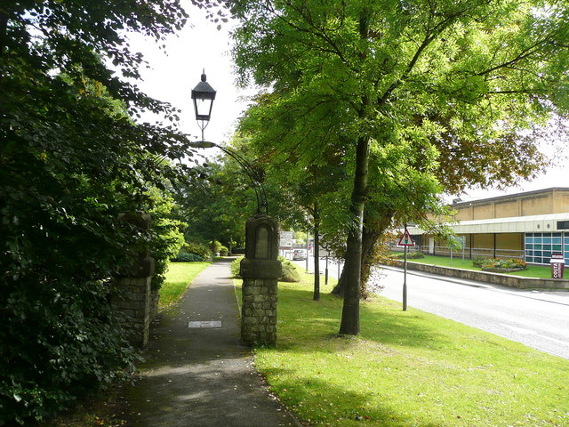 Path alongside the A362, Radstock