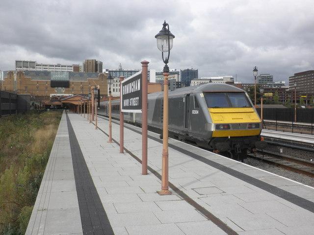 Marylebone train stands at Birmingham Moor Street