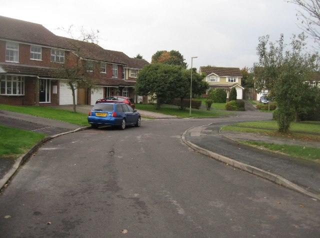 Houses along Mallard Close