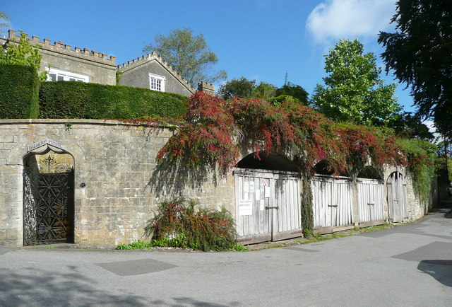 Brewery House and arched entrances