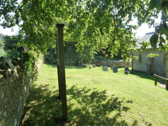 St John the Baptist, Fishpond Bottom: churchyard (b)