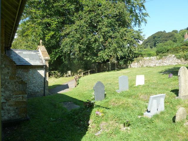 St John the Baptist, Fishpond Bottom: churchyard (c)