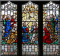 TQ4686 : All Saints, Goodmayes - Stained glass window : Week 41