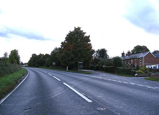 A1071 Evan's Heath, Bower House Tye