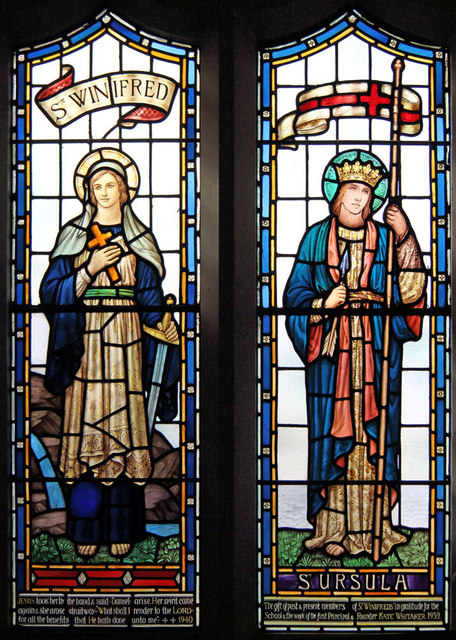 All Saints, Goodmayes - Stained glass window