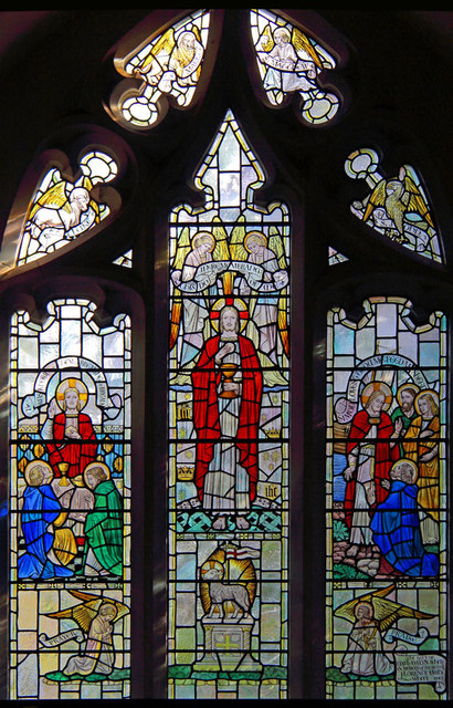 All Saints, Goodmayes - Stained glass window