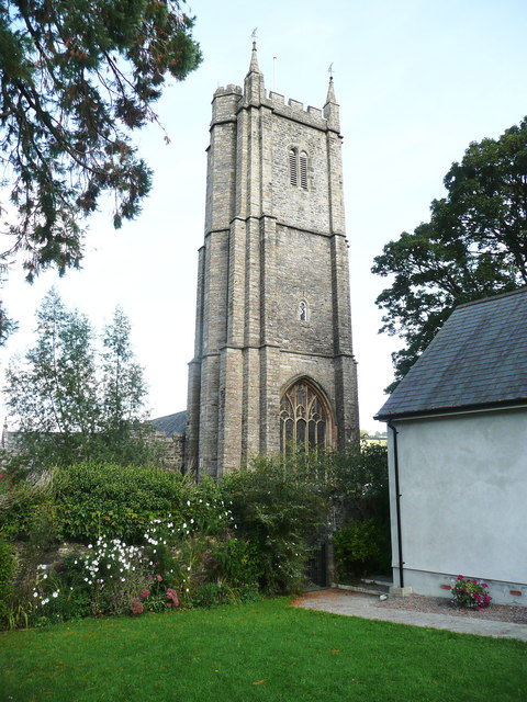 Tower of St Andrew's Church, Ashburton