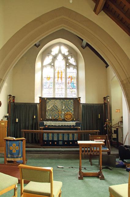 All Saints, Goodmayes - Lady chapel