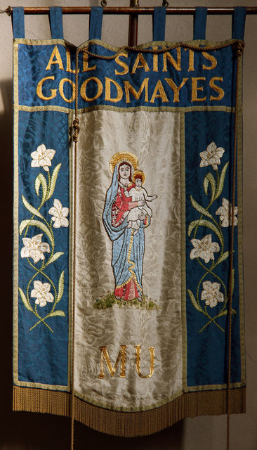 All Saints, Goodmayes - Banner MU