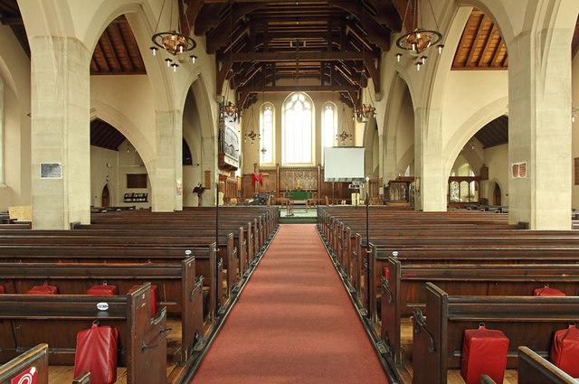 All Saints, Goodmayes - East end