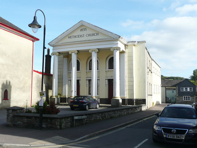 Methodist chapel, West Street, Ashburton