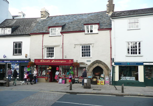 Shops,North Street, Ashburton