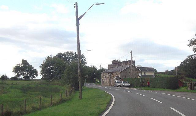 A496 at Ynys Llanfihangel-y-traethau