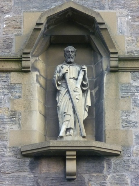 St. Andrew statue, Church Street