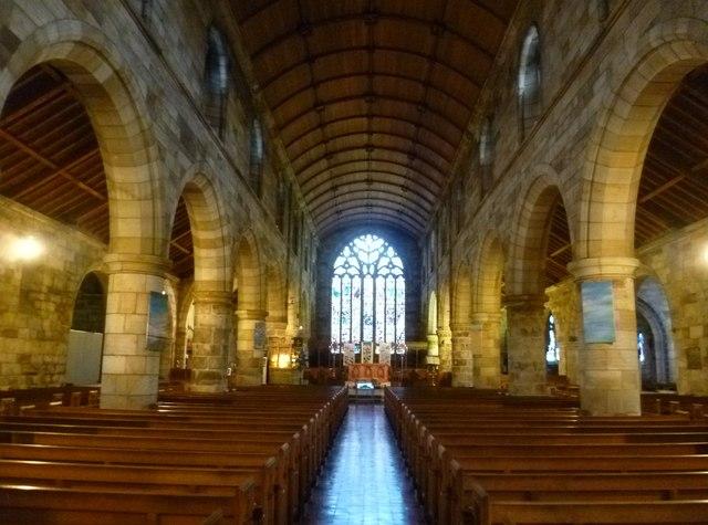 Holy Trinity Church interior