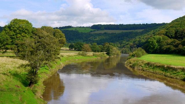 The River Wye from Bigsweir Bridge, 1