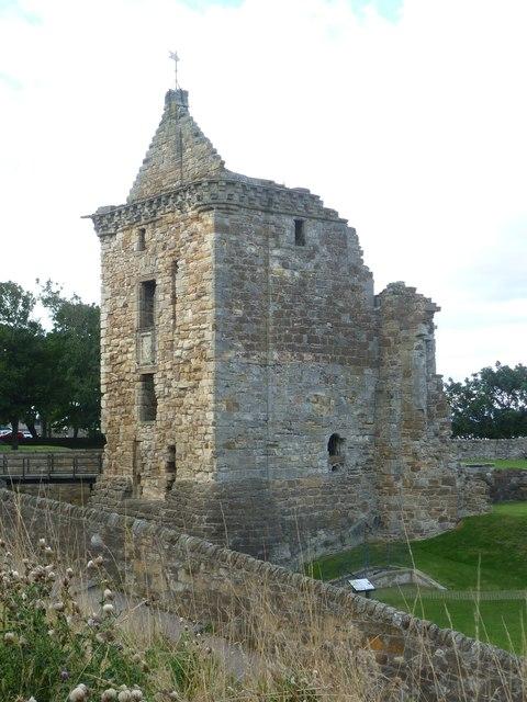 St. Andrews Castle Foretower