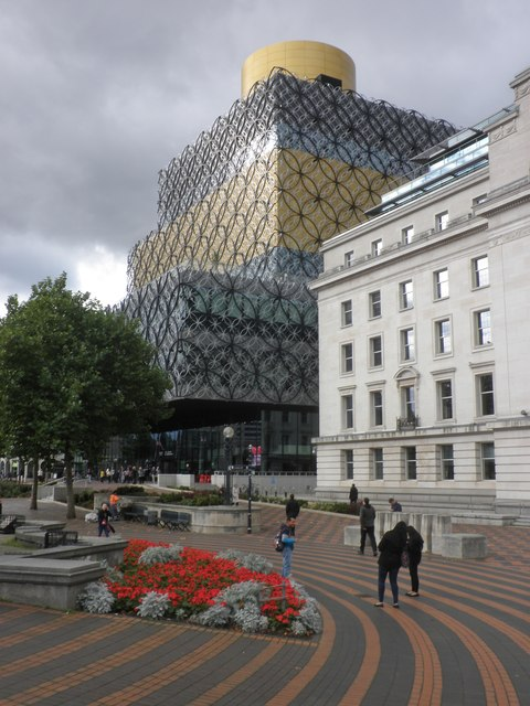 The new Central Library, Birmingham