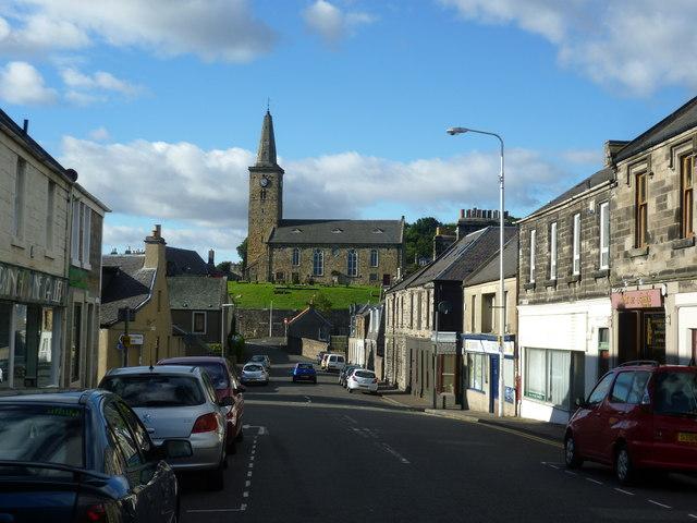 Markinch Parish Kirk from the High Street