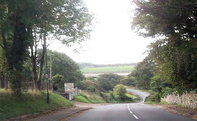 A496 near Cae Cethin