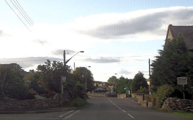 Bryn Heulog junction off A496