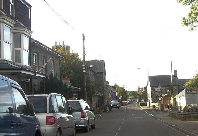 Centre of Dyffryn Ardudwy
