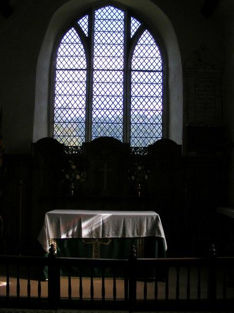 Stokesay Altar